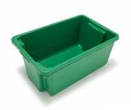 Scomparto di riciclaggio vuoto Fotografie Stock Libere da Diritti