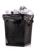 Scomparto di rifiuti Fotografia Stock