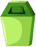 Scomparto di rifiuti Fotografie Stock