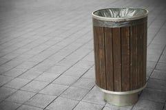 Scomparto di rifiuti Fotografie Stock Libere da Diritti