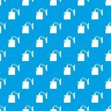 Sconce pattern vector seamless blue. Repeat for any use Stock Photography