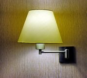 Sconce on the wall stock photography