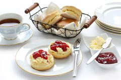 Scone , afternoon tea break Stock Photo