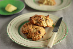 Irish scone Royalty Free Stock Photo