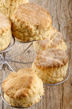 Scone on a cake stand Royalty Free Stock Photo