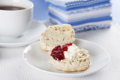 Scone for Tea Royalty Free Stock Photography