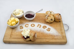 Scone selection Royalty Free Stock Photos