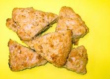 scones имбиря лимона стоковое изображение rf