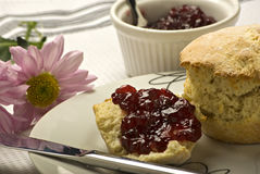 Scones Stockbild