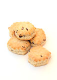 Scones. Shot of some freshly baked scones on white Royalty Free Stock Images