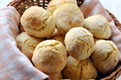 Scones in a basket Royalty Free Stock Photography