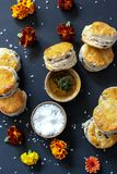 Scones Biscuits Royalty Free Stock Photos