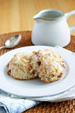 Scones de cannelle Images libres de droits