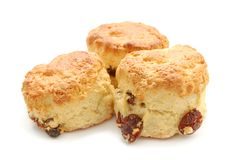 Scones frais Photos stock