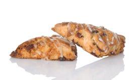 Scones frais cuits au four Photo libre de droits