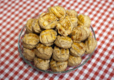 Scones. Freshly baked traditional hungarian cheese cake pogacsa royalty free stock photo