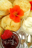 Scones And Jam Royalty Free Stock Image
