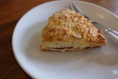 Scones with strawberry jam and cream. stock photography