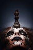 Sconfigguto da re di scacchi. Immagine Stock Libera da Diritti