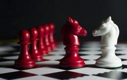 Sconfitta di scacchi fotografie stock libere da diritti