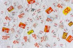 SCONTA il fondo Fotografie Stock