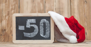 Sconti di Natale Fotografia Stock Libera da Diritti