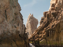 Scooby Doo Head Rock. At Lands End in Cabo San Lucas, Mexico Stock Image
