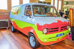 Scooby doo hot rod car. At Victorian Hot Rod & Cool Rides Show in Melbourne, Australia Royalty Free Stock Photo
