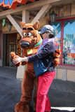 Scooby at Universal Studios Hollywood Stock Photo