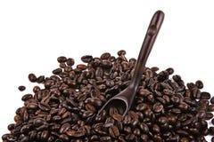 Scoop Of Coffee Bean stock photography