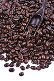 Scoop Of Coffee Bean Royalty Free Stock Image