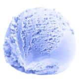 Scoop of Mango  ice cream isolated  on white background. Ball of Stock Photos