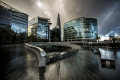 The Scoop - More London Royalty Free Stock Images