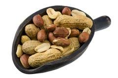 Scoop of peanuts stock photos