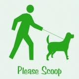 Scoop the poop Royalty Free Stock Photos