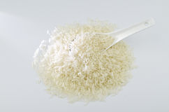 A scoop rice Stock Image