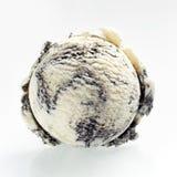 Scoop of speciality American oreo ice cream