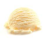 Scoop of Vanilla icecream Royalty Free Stock Photos