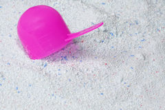 The scoop for washing powder Royalty Free Stock Image