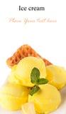 Crème glacée  Photographie stock libre de droits