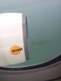 Scoot Budget Airlines Imagen de archivo