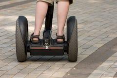 Scooter électrique images libres de droits