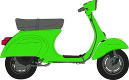 scooter Immagini Stock Libere da Diritti