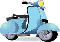 A scooter Stock Photo