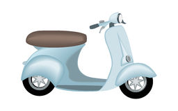 Scooter Royalty Free Stock Image