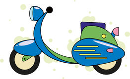 Scooter Image stock