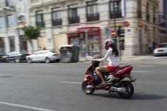 scooter royalty-vrije stock afbeelding