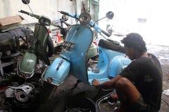 scooter fotografia stock libera da diritti