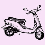 scooter Stock Foto