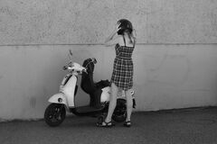 Scooter Stock Photography